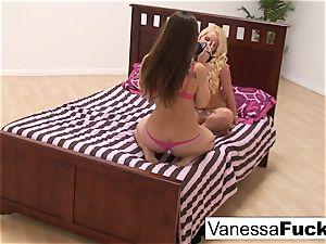 Vanessa box And Dani Daniels play