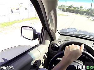 amateur pickup video with big-boobed hottie Brooke Wylde