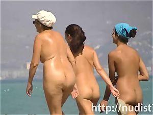 wondrous beach nudist girls