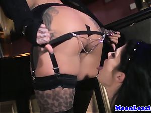 bootylicious Lucia enjoy luvs Angel Long's pink cunt