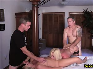 group plumb the Stripper with Ms Paris Rose