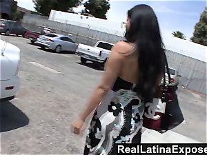 RealLatinaExposed Sophia likes a massive boner