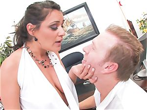 Charley chase Gets poked