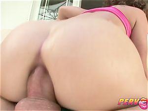 PervCity anal invasion enjoying dark-haired Katie St. Ives