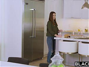 BLACKED teenager pulverizes Her Sisters Boyfriends big black cock Behind Her Back
