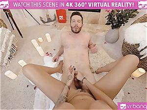 VR pornography - Thanksgiving Dinner becomes insane ravaging