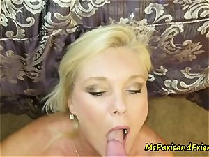 Ms Paris loves a wood in Her bootie