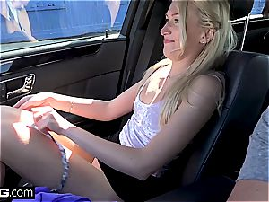 Russian blondie in her first-ever audition episode