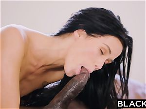 BLACKED warm Megan Rain Gets DP'd By Her Sugar dad and His friend