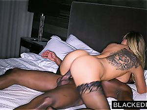 enormous jugged stupid housewife gets slain by a immense black dong