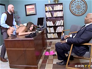 delightful August Ames gets poked by the dean