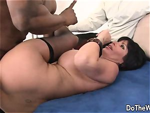 milf boned by a black man in front of her hubby