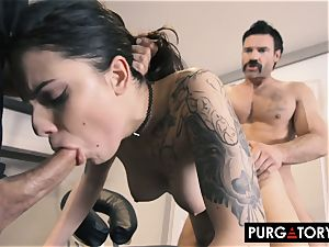 PURGATORY I let my wife fuck two dudes in front of me