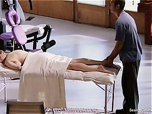 gorgeous Mimi Rogers gets her entire body pawed