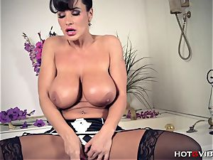 ample, Soapy mounds mummy Lisa Ann