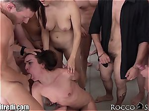 naughty Italian porn superstar bang-out