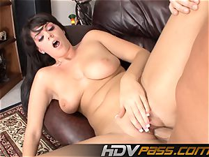 Alison Tyler deepthroating And Getting porked