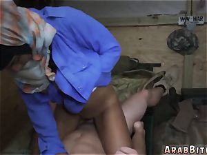 Soldier pummels muslim and arab mom compeer playfellow s daughters girlally Operation