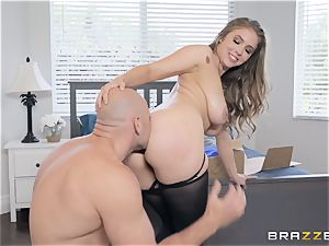 big-titted Lena Paul porked from the rear