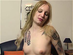 ReifeSwinger - FFM threesome for German tattooed honies