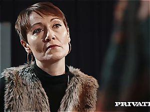 wonderful crimson head bombshell Ella Hughes gets her trimmed cooch pulverized