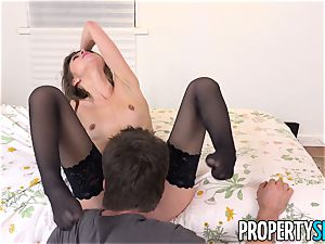 PropertySex - Surfer stud pounds wildly warm landlady