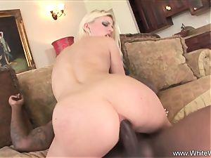 Platinum ash-blonde love bbc