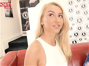 Katrin Tequila torn up xxx on her first audition