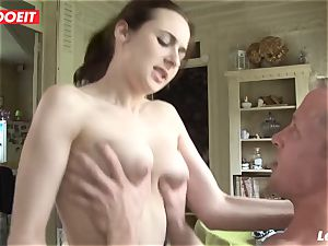 LETSDOEIT - inexperienced French likes moaning On huge hard-ons