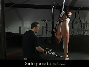 japanese Marica Hase bruised and stiff used in bondage & discipline