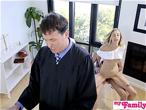 Church stunner pokes step-brother Behind Dads Back! S1:E4