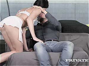 Private.com - Lovenia Lux loses her anal virginity
