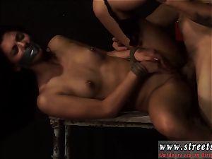 buttfuck bondage & discipline agony restrain bondage hard-core small, inked, and very pretty, Gina Valentina is the