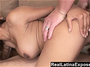 RealLatinaExposed Latina maid chooses a