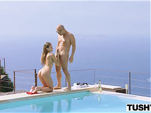 TUSHY Ibiza Model enjoys to Be Gaped