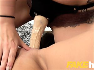 chick Agent Alessa savage warm cord on penetrate