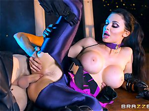 Aletta Ocean plunged with the monster knob of Danny D
