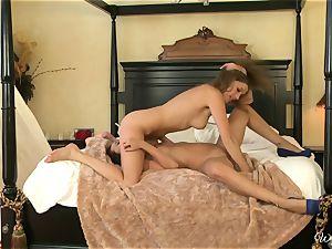 Alexis Capri eats on her fucking partners moist vagina