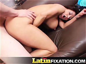 LatinFixation Ava Addams swallow jiggly cum