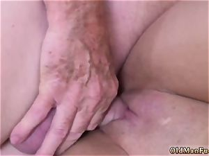 daddy and mummy elderly fellow gonzo Ivy impresses with her thick breasts and caboose
