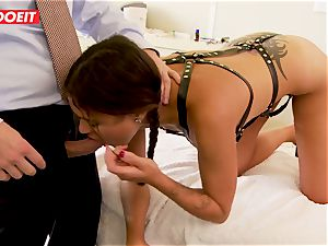 college girl gets abused xxx by lecturer and doctor