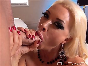 poking fleshy Summer Brielle between her cool cupcakes